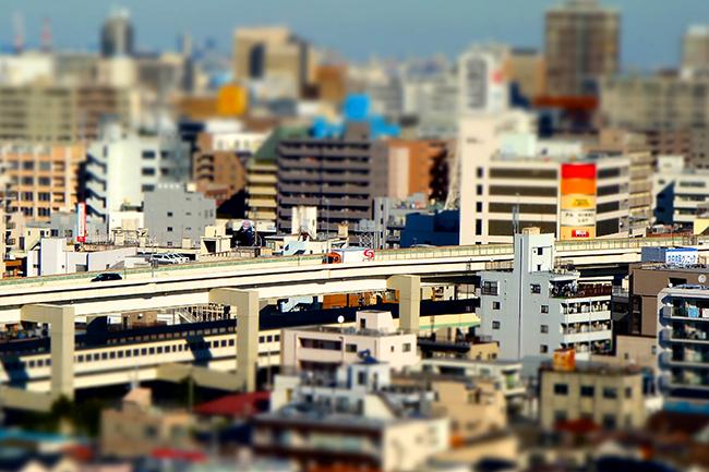横浜ミニチュア写真