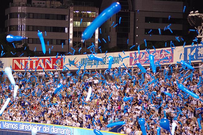 横浜スタジアム ジェット風船