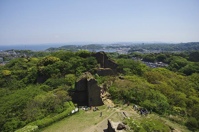 鷹取山山頂景色-2