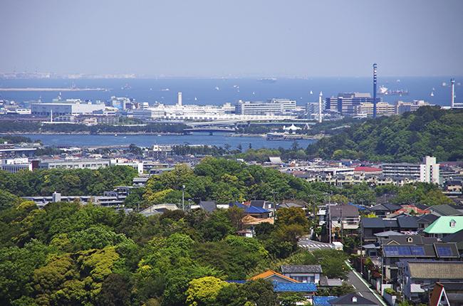 鷹取山山頂景色