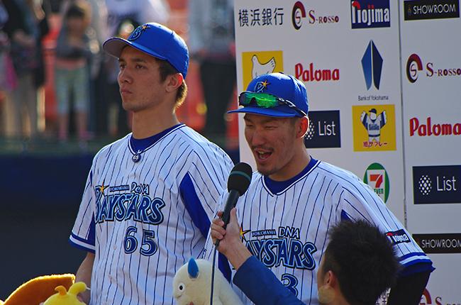 150426梶谷ヒーローインタビュー