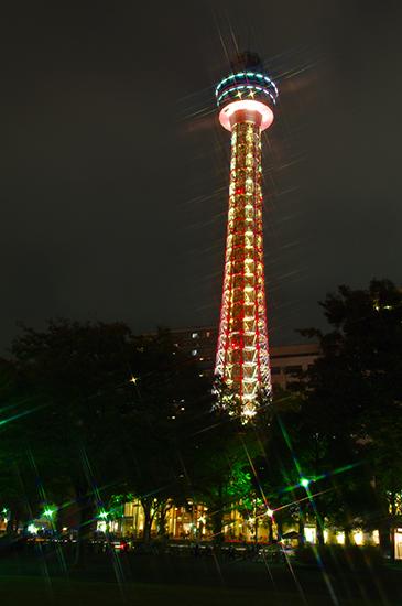 1402山下公園の夜景-2