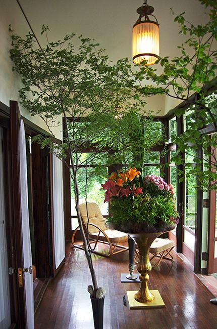 花と器のハーモニー2015 エリスマン邸