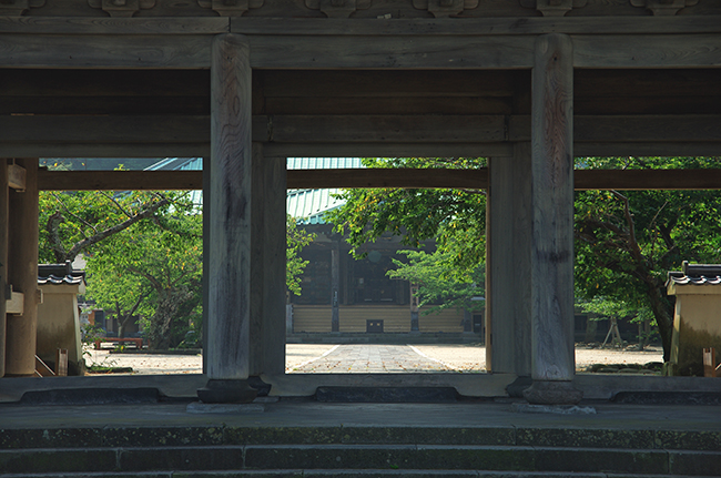 光明寺 山門1508-3-4