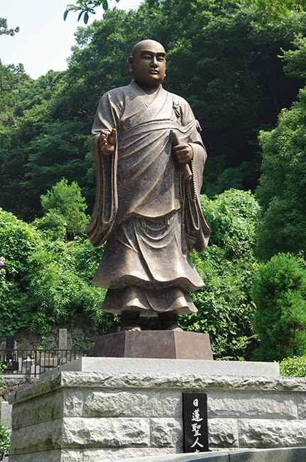 妙本寺 銅像1508-9
