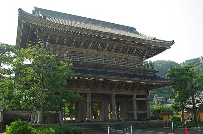 光明寺 山門1508-2