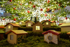 クリスマスイルミネーション 横浜ベイクォーター