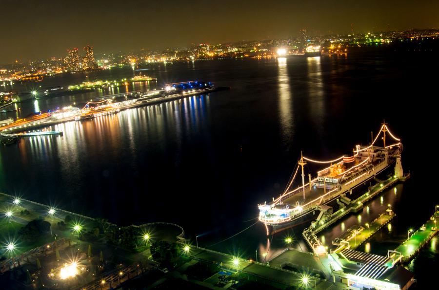 横浜夜景マリンタワー