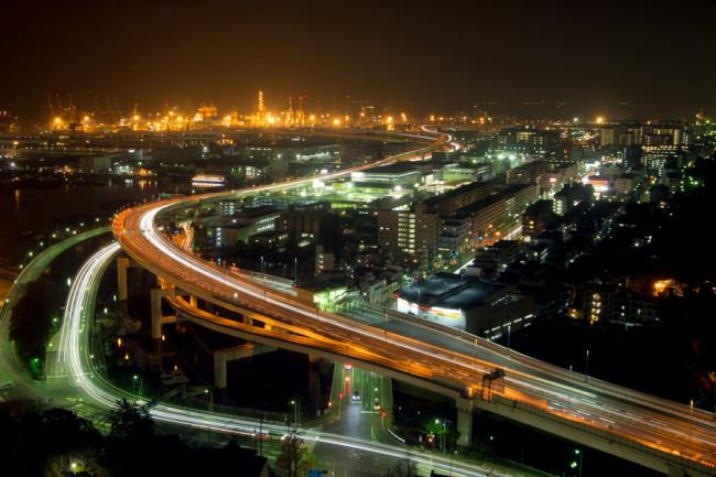 Yokohama Night View マリンタワーから横浜夜景