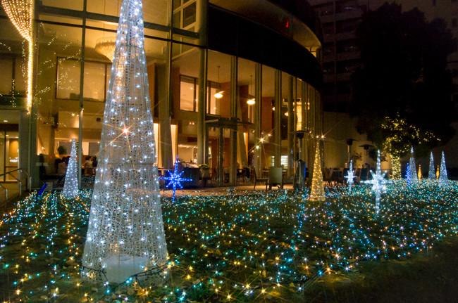 マリンタワーのクリスマスイルミネーション